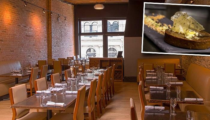 Coupon rabais 59 pour un menu 3 services de cuisine for Restaurant cuisine moleculaire