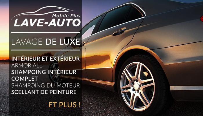 Coupon Rabais 79 Pour Un Lavage DELUXE Chez Lave Auto Mobile Plus Payez Seulement 24 Taxes Maintenant Valeur De 259 Montreal A