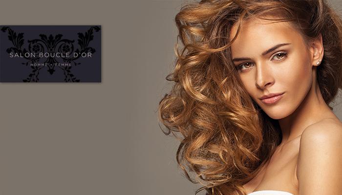 Coupon Rabais  u00c0 partir de 24$ pour un forfait coiffure de votre choix chez Boucle du2019Or (valeur ...